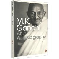 我体验真理的故事 英文原版 圣雄甘地自传 英文版 人物传记 An Autobiography 进口英语书