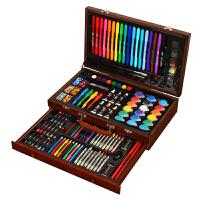 生日礼物送儿童 小朋友学生男女孩子实用创意礼品生日4-10岁画笔套装绘画工具礼盒蜡笔水彩笔 123件套装