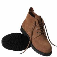 冬季时尚工装鞋商务鞋保暖防寒高邦鞋男士三接头皮鞋男羊毛保暖棉皮鞋保暖高帮鞋休闲潮流鞋