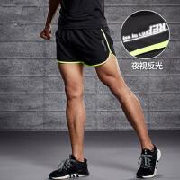 运动短裤男士速干马拉松跑步三分裤薄款宽松健身房训练篮球裤