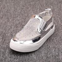 镂空女童鞋子春夏季女童网鞋时尚表演鞋软底宝宝鞋潮