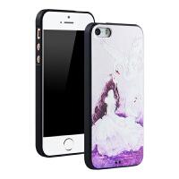 宾丽手机壳3D立体彩绘防摔个性卡通软壳套适用于iPhone6splus6plus5.5英寸天鹅湖