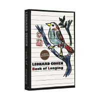 正版 预定的向往 渴望之书 英文原版诗歌集 Book of Longing 与鲍勃迪伦并称的诗人莱昂纳德科恩 英文文学