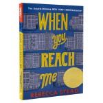 【中商原版】当你到达我 英文原版 When You Reach Me 2010年纽伯瑞金奖 科幻悬疑小说 美国畅销儿童
