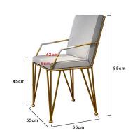 实木办公桌电脑桌简约现代洽谈桌北欧长条大桌子轻奢会议桌椅组合