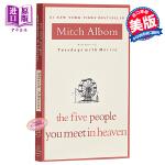 【中商原版】英文原版 你在天堂里遇到的5个人 The Five People You Meet in Heaven Mi