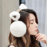 护耳罩耳套保暖女挂耳包耳捂耳暖冬季天儿童猫耳朵套韩版可爱折叠