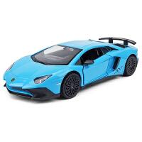 男孩回力玩具车汽车模型 仿真1:36跑车合金车模型
