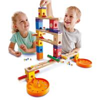 【16-24日每100减50】Hape夸得瑞拉音乐套4-99岁轨道积木益智情景游戏玩具婴幼玩具木制玩具滑道E6012