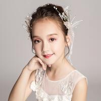 发饰头箍女童演出礼服饰品头饰发箍花童婚纱发夹儿童花朵头花配饰