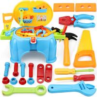 儿童工具箱玩具套装宝宝1-2-3-4-5-6-7-8岁维修修理仿真小孩男孩