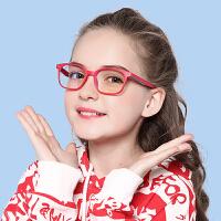 儿童防辐射眼镜防蓝光护目镜青少年眼镜上网游戏护目镜配近视眼睛