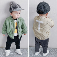 4岁半宝宝棉衣3周岁男童冬装5棉袄加厚2冬季套装儿童保暖外套