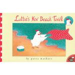 Lottie's New Beach Towel 洛蒂的新沙滩巾 (美国童书书商协会童书推荐单)ISBN 978068