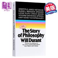 英文原版 the story of philosophy: The Lives and Opinions of the World's Greatest Philosophers哲学简史 Will