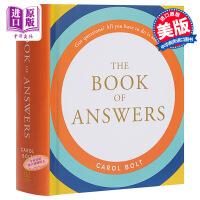【中商原版】正版The Book of Answers答案之书 解答之书 英文原版书 我的人生解答书 进口图书畅销小说