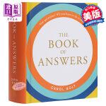 【新版】正版The Book of Answers答案之�� 解答之��  英文原版�� 我的人生解答�� �M口�D���充N小�f精�b版周冬雨微博推�] 占卜�A�y��