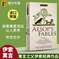 伊索寓言英文版原版Aesop's Fables 203个故事英语经典文学小说名著正版进口书籍 可搭毛姆短篇故事集王尔德短