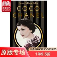 Coco Chanel,可可香奈儿:珍珠、香水和小黑裙 时装设计师与时尚的故事 英文原版