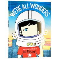 正版 英文原版绘本 We're All Wonders 我们都是奇迹 英文版 儿童英语绘本 可搭 Wonder 奇迹男