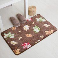 福存家居 珊瑚绒提花地垫脚垫浴室防滑吸水地毯厨房卧室垫进出门口地垫