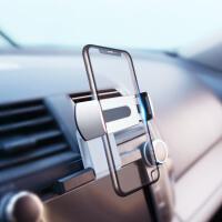 汽车手机支架车载CD口手机架出风口卡扣式导航架吸盘重力感应磁吸