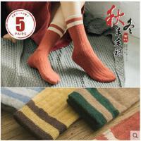 袜子女秋冬季兔羊毛袜堆堆袜女韩国中筒袜保暖韩版加厚学院风女袜