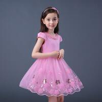 5到6至7女童装8夏天小女孩子12连衣裙子儿童10夏季衣服装11岁穿13