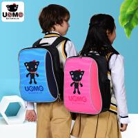【台湾进口】台湾unme书包小学生男女童背包1-3年级尼龙防水轻巧减负书包 帆布包 书包小学生男 书包小学生女