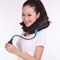 颈椎牵引器家用护颈颈椎牵引器 双绒 家用旅行充气式