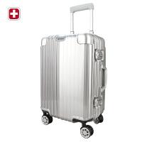 瑞士军刀24寸拉杆箱男女全铝万向轮拉杆箱旅行箱高端上档次登机箱BX4911