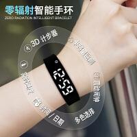 韩版儿童手表男女学生潮流智能计步数字式震动手环闹钟电子表男