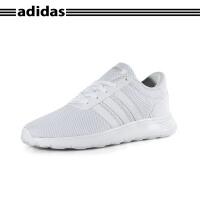 阿迪达斯(adidas) LITE RACER K BC0074 NEO大童款白色透气舒适运动鞋跑步鞋训练鞋
