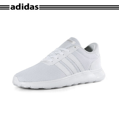 阿迪达斯(adidas) LITE RACER K BC0074 NEO大童款白色透气舒适运动鞋跑步鞋训练鞋*赔十