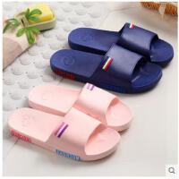 夏季浴室拖鞋男女士居家室内防滑厚底情侣家居洗澡塑料凉拖鞋男女