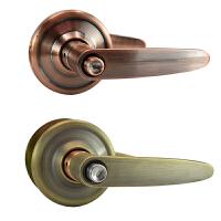 锁黑色把手锁球形门锁 室内卧室木门锁不锈钢房间锁执手锁 通用型