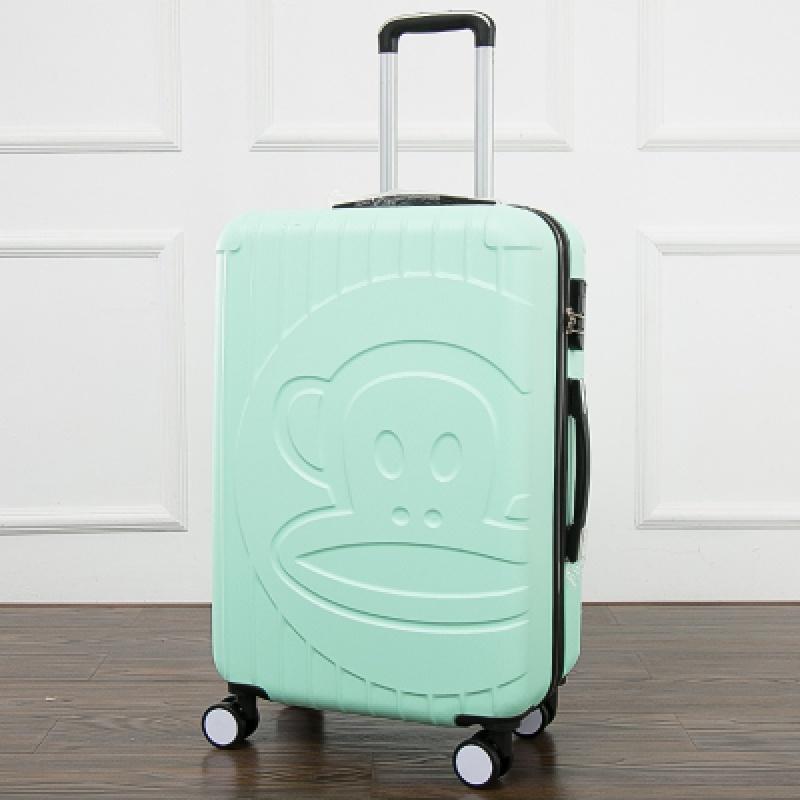 拉杆箱万向轮卡通行李箱20寸登机箱儿童旅行箱24寸学生皮箱男女潮