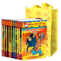 正版老鼠记者21-30册 英文原版 Geronimo Stilton 儿童小说章节书 全彩插画漫画儿童探险小说 英语文