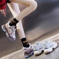 户外运动厚底内增高女鞋百搭休闲运动鞋智熏鞋子潮