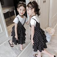 女童夏装连衣裙女孩童装套装公主裙洋气儿童裙子夏季