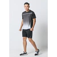 时尚羽毛球服套装情侣T恤透气速干网球运动服男女短袖定制比赛服
