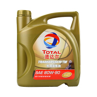 道达尔(Total)车用齿轮油手动变速箱油 TRANSTEC 80W90 4L GL-5