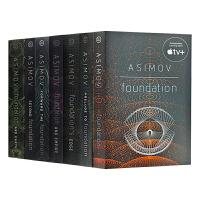 现货正版 银河帝国 英文原版 Foundation 基地七部曲系列全集1-7册 英文版进口科幻小说书 Isaac As