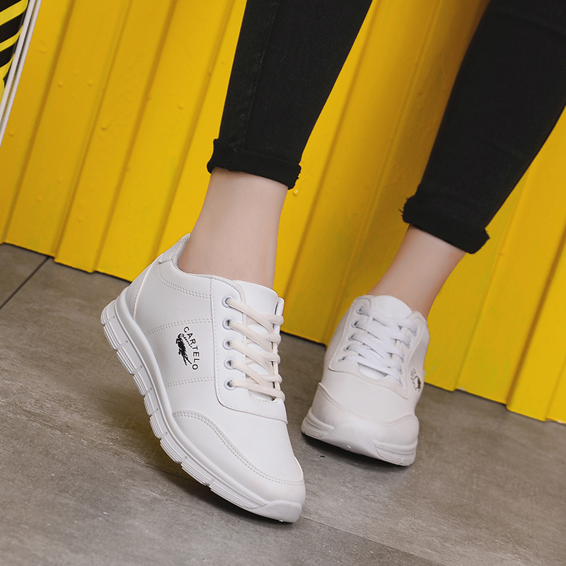 卡帝乐鳄鱼女鞋小白鞋学生鞋运动鞋鞋跑步鞋旅游鞋休闲鞋女小白鞋