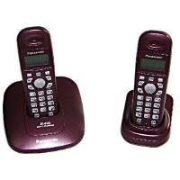松下KX-TG10CN-2 2.4GHz数字无绳电话机 醇酒红