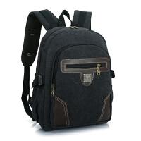 新款帆布男包迷你小双肩包胸包男士背包书包女运动旅行包包