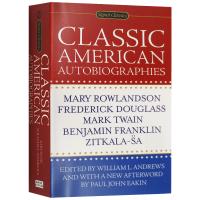 正版 Classic American Autobiographies 经典美国自传集 英文原版传记合集 富兰克林 马克