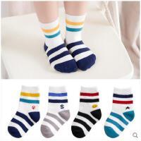 儿童袜子纯棉秋冬季男童女童宝宝小孩中筒袜1-3-5-7-9-10-12岁