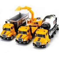 【限时抢】儿童玩具车 仿真小汽车合金车挖掘机 男孩车模型玩具