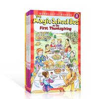 英文原版绘本 The Magic School Bus science reader level 神奇校车9本 少儿科普百科桥梁儿童读物绘本童书